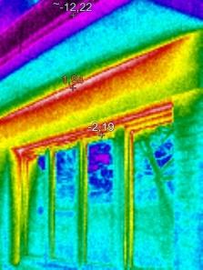 Termovizní měření tepelných úniků