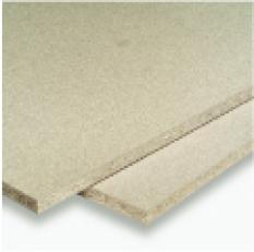 Surové dřevotřískové desky a obkladové desky