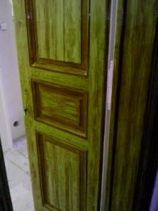 fládrování=napodobení struktury dřeva