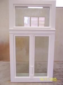 Okno dřevěné špaletové