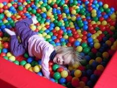 Bazény s míčky - terapeutické