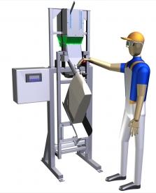 BRUTTO pytlovací váha pro plnení ventilových pytlů