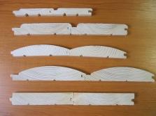 drevené obklady, stavebné rezivo, krovy