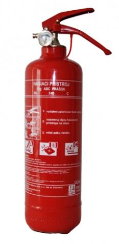 Prenosný hasiaci prístroj P1