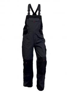 Pracovné nohavice pánske s trakmi SIRIUS TRISTAN s náprsenkou