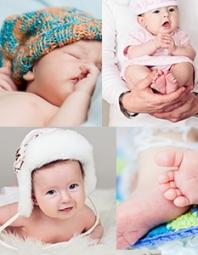 Fotíme novorozence
