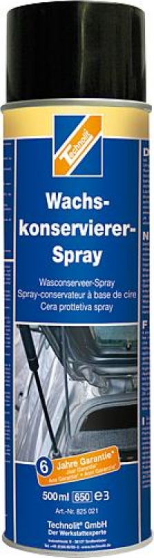 Konzervačný voskový sprej