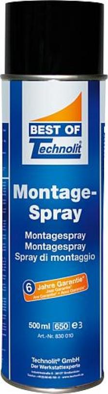 Mazadlo montážny sprej