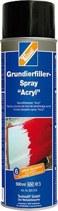 Acrylový biely sprej