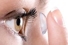 Kontaktné šošovky