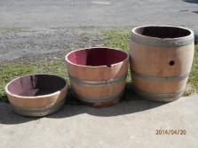 Prodej použitých sudů, nádrží na vodu, výroba nábytku a dekorací ze sudů
