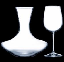 Set karafa a poháre - 3 za 2 - 1500ml, 2x 450ml