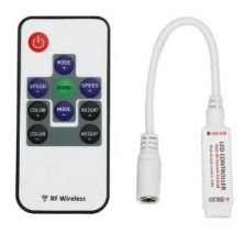 Mini RF ovládač RGB pásov