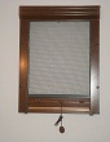 Okenné navíjacie sieťky