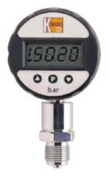 Digitální tlakoměr s keramickým senzorem, na baterie MAN-SD