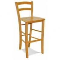 Barové stoličky drevené