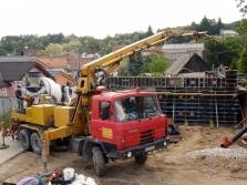 Čerpanie betónovej zmesi