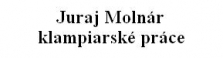 Juraj Molnár klampiarské práce