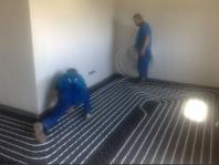 podlahové kúrenie - inštalácia