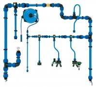 Potrubní rozvody tlakového vzduchu