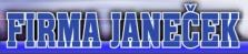 Firma JANEČEK - výroba a oprava závěsného zařízení pro masný průmysl