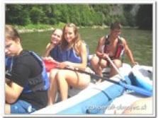 Rafting - kanoe