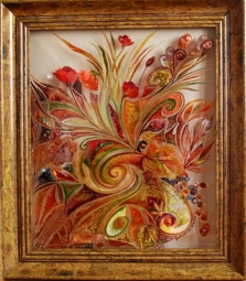 Maľba na sklo - obrazy