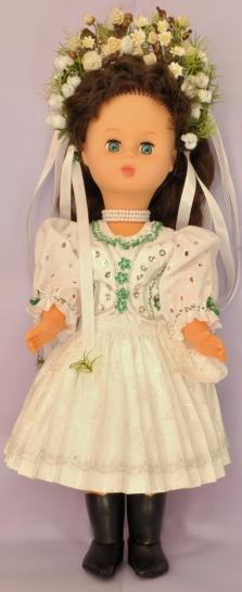 Krojované bábiky, ručne maľovaný textil a hodváb
