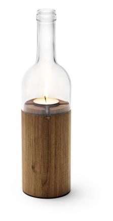 Svícen á la víno - bílý