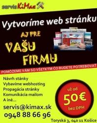Tvorba webu - eshopu
