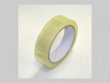 Lepicí páska transparent 25 mm x 66 m akrylát, pro zavírač sáčků