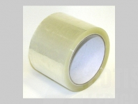 Lepicí páska transparent 72 a 75 mm x 66 m akrylát, pro zavírač sáčků