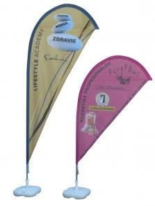 Vlajky Beachflag SLZA