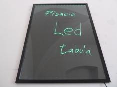Písacia LED tabuľa