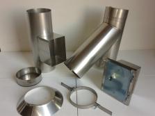Frézování, čištění, vložkování, revize a výroba komínů včetně nerezu