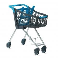 Nákupní vozíky plastové