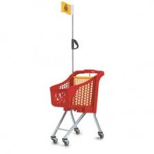 Dětské nákupní vozíky plastové