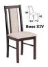 Dřevěné židle a stoly