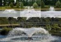 Fontánová čerpadla, fontány a vodopády