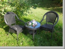 Zahradní ratanový nábytek