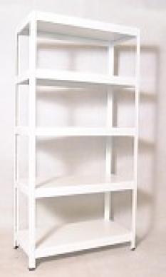 šanony do archívu, police laminované bílé