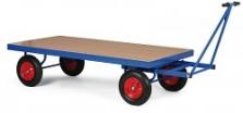 Vozy plošinové transportní vozíky s brzdou anebo bez brzdy