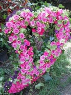 Smuteční kytice, smuteční vazby