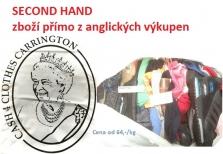 Second hand textil přímo z anglických výkupen
