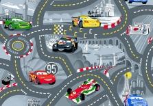 dětský koberec Cars-silnice