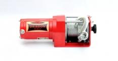 ATV naviják Dragon Winch Maverick DWM 2500 ST, 12V, ocelové lano.
