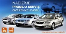 Prodej a servis vozů Ford