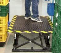 Pracovní vyrovnávací plošiny PRP-ZV-DUO