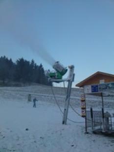 Sloupy pro snězná děla