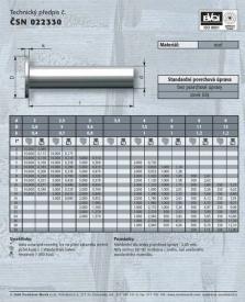 Hutní druhovýroba (paprsky, matice kol, hřebíky, nýty, pečící plechy)